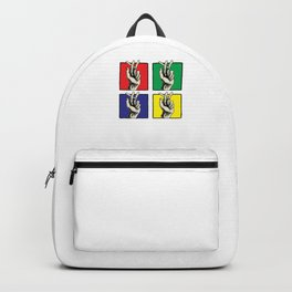 Pop Art Retro Cigarettes Cigarette Smoker Graphic Backpack