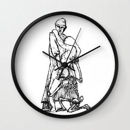 Der Artz, das Mädchen und der Tod  Wall Clock