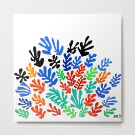 Henri Matisse - The Sheaf, Harvest Bundles of Grain Stalks portrait painting Metal Print