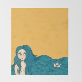Sailing Throw Blanket