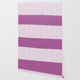 Triangles Purple Wallpaper
