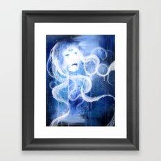 Three Eyed Goddess Framed Art Print