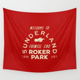 Roker Park Football Ground Wall Tapestry