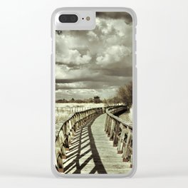 The Bridge. Retro serie Clear iPhone Case