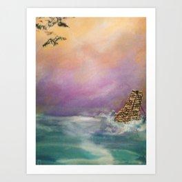 The Buoy Art Print