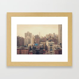 nyc scape... Framed Art Print