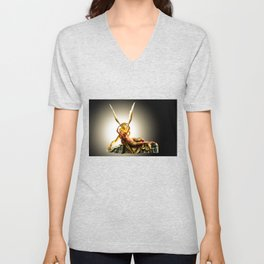 CUPID AND PSYCHE Unisex V-Neck