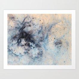 Entropy Ether Art Print