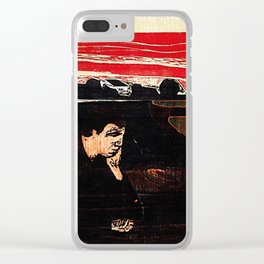 Evening. Melancholy. Clear iPhone Case