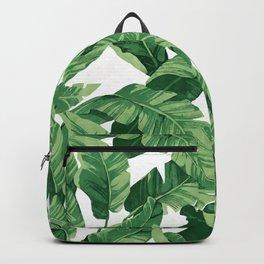 Tropical banana leaves IV Rucksack