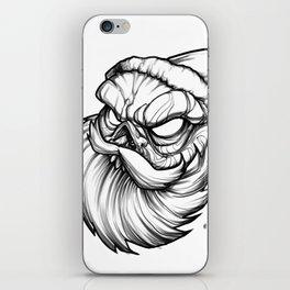 Santa Skully iPhone Skin