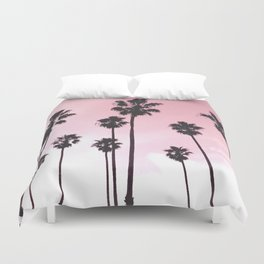 Palms & Sunset Duvet Cover