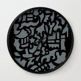 Mono flash Wall Clock
