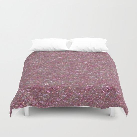 Crystal Pink Duvet Cover