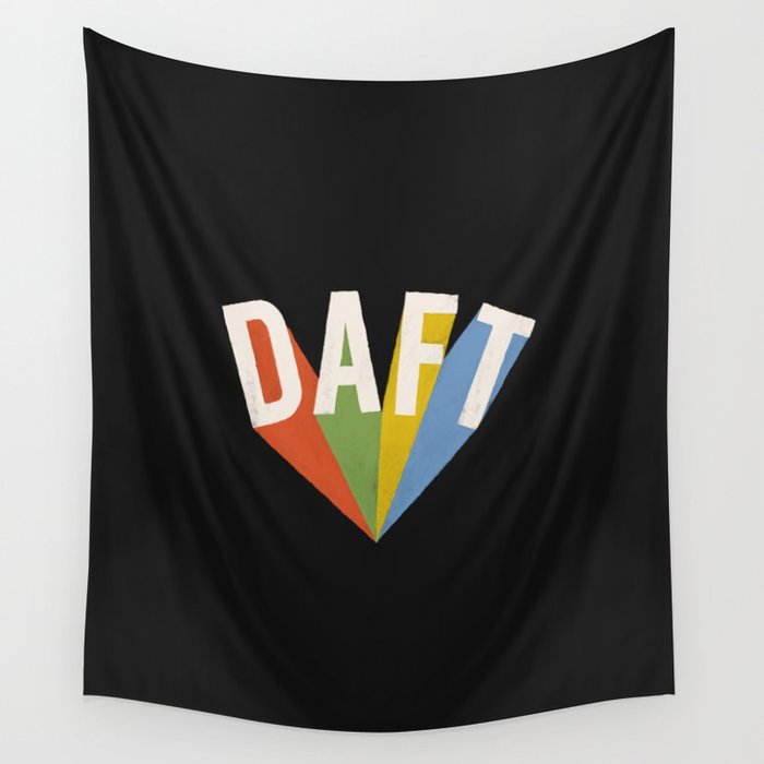 Letters : Daft II Wall Tapestry