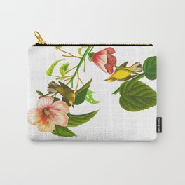 Blue winged Yellow Warbler Carry-All Pouch