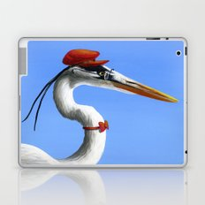 Original Animal Painting Bird ... Fancy Day Laptop & iPad Skin