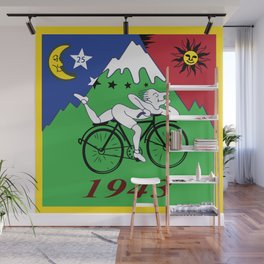 Bicycle Day 1943 Albert Hofmann LSD Wall Mural