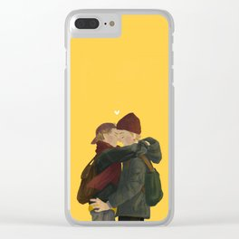 evak Clear iPhone Case