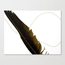 Music Makes Me Fly Canvas Print