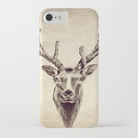 elk iPhone & iPod Cases featuring Elk  by Werk of Art
