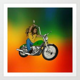 Hit The Road Bob Art Print