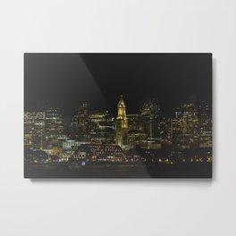 boston WATERFRONT Metal Print