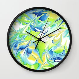 WaterMarks Wall Clock