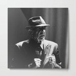 Leonard Cohen concert photo Metal Print