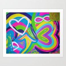 bright dreams Art Print