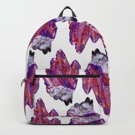 shiny crystal cluster Backpack
