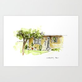 Across from the Coop Art Print