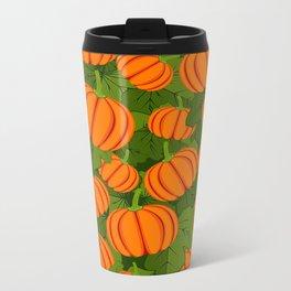 C13D Pumpkin Harvest Metal Travel Mug