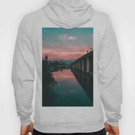 River Sunset Street Photography Hoody