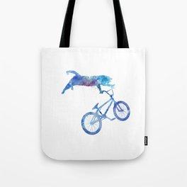 BMX Cat Tote Bag