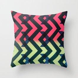 Aztec Two Throw Pillow