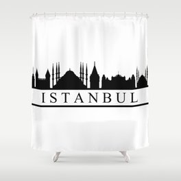 skyline istanbul Shower Curtain
