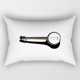 Pete's Rainbow String Banjo Rectangular Pillow