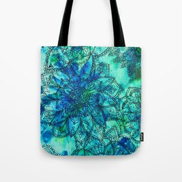 Blue is the Colour of Calm. Tote Bag