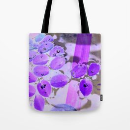 Mini Water Lilies and Water Bug Tote Bag