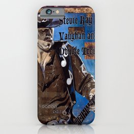 Stevie Ray Vaughan iPhone Case