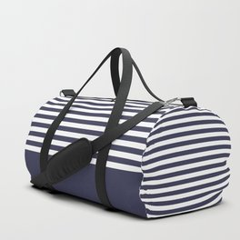 Blue , white , striped 2 Duffle Bag