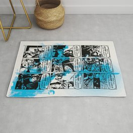 The Future Is Unevenly Distributed Rug