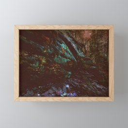 Forest Wall Dark Fairy Landscape Framed Mini Art Print