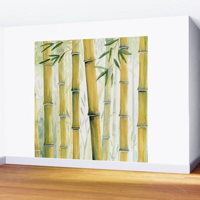 Bamboo Trees Wall Mural