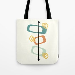 Mid Century Modern Shapes 02 Tote Bag