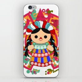 Maria 6 (Mexican Doll) iPhone Skin