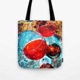 Wine glasses art vs 3 Tote Bag