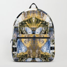 Abstract graffiti pattern Backpack
