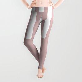 Bold pink stripe Leggings